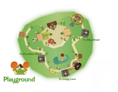 Toontown Schoolhouse Location