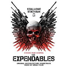 The expendables ost cover