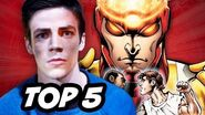 The Flash and Arrow Spinoff - TOP 5 Stories