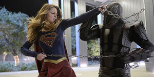 Supergirl Fights Master Jailer