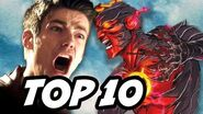 The Flash Season 3 Episode 6 The Flash vs Savitar TOP 10 and Easter Eggs
