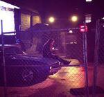 6x22 Elena's sitting on Damon's car