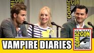 The Vampire Diaries Comic Con Panel - Ian Somerhalder, Kat Graham, Paul Wesley, Candice Accola