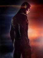 The Flash blue-red promo