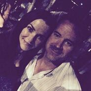 2015-08-22 Annie Wersching Instagram Jeffrey Hunt
