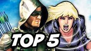 Arrow Season 4 Episode 18 - TOP 5 WTF and Easter Eggs