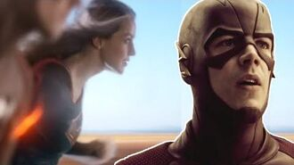 "The Flash Supergirl Crossover ""Worlds Finest"" Review and Easter Eggs!"