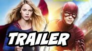 The Flash Season 2 Supergirl Crossover Official Trailer Breakdown