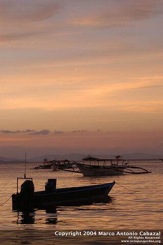 File:Puerto Galera Sunset.jpg