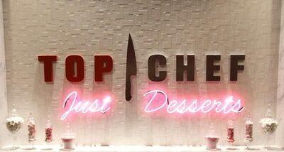 Just Desserts Sign