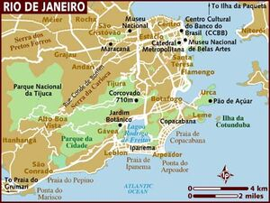 Rio de Janeiro map 001
