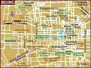 Beijing map 001