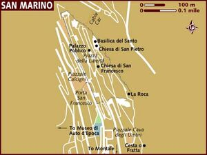 San Marino map 001