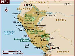 Peru map 001