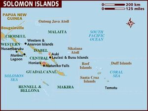 Solomon Islands map 001