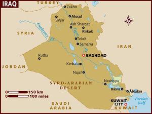 Iraq map 001