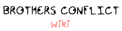 File:Brothers Conflict Wiki Wordmark.png