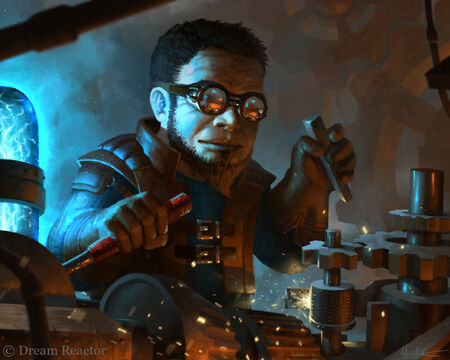 Gnome artificer by vablo-d5mgf7a