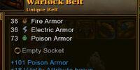 Warlock Belt