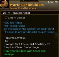 Warlock Shoulders