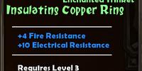 Insulating Copper Ring