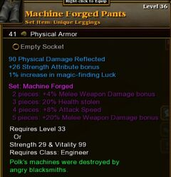 Machine Forged Pants