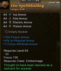 The spellbinding