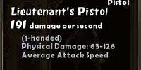 Lieutenant's Pistol