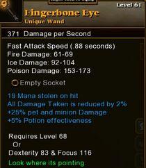 Fingerbone Eye