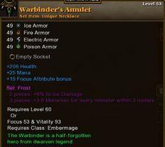 Warbinders Amulet