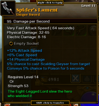SpidersLament