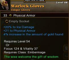 Warlock Gloves
