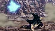Starjun evades Toriko's attack