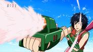 Rin shooting Battle Fragrance