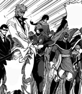 Gourmet Knights and Yakuza ready to fight