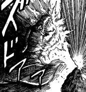 Zebra hitting Mounturtle with Voice Burst