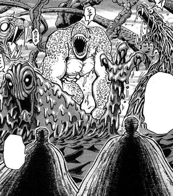 Zebra And Toriko Facing Sand Garden Beasts.jpg