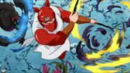 Chiru defeats Scum Beasts