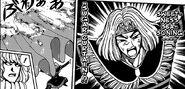 Anyo Jr. using Sweetness seasoning - Sugar Curtain to block Yuu's attack