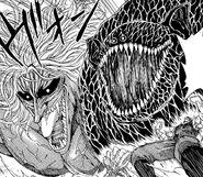 Toriko and Zebra Intimidation