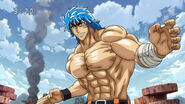 Toriko ready for fight