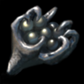 Steel seed pod icon
