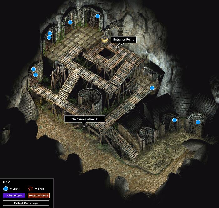 Pharods vault map