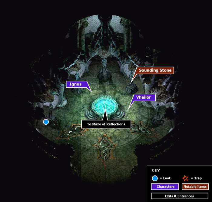 Fortress of regrets tiral of impulse map