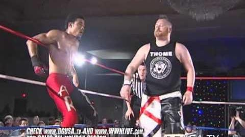 DGUSA AR Fox vs. Arik Cannon FULL MATCH from Dragon Gate USA's Mercury Rising 2012