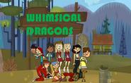 Whimsical dragons group