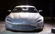 Spectre press conference - DB10 front