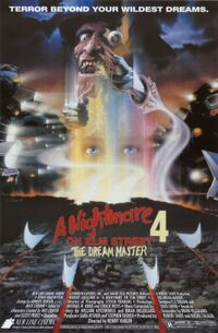 A Nightmare on Elm Street 4 The Dream Master poster