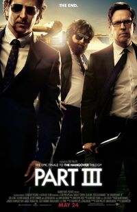 The Hangover Part III poster