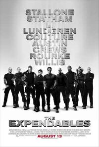 The Expendables (2010) poster